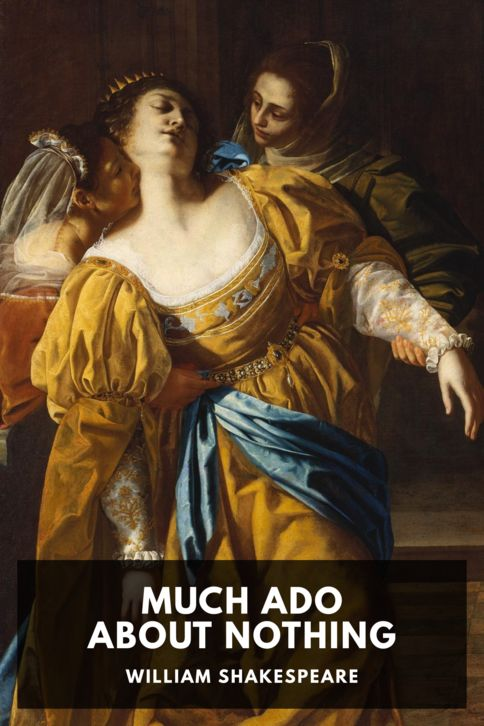The cover for the Standard Ebooks edition of Much Ado About Nothing, by William Shakespeare
