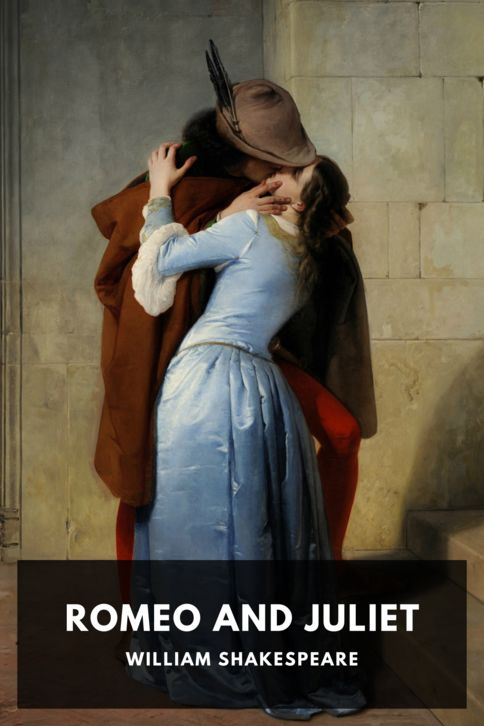 The cover for the Standard Ebooks edition of Romeo and Juliet, by William Shakespeare