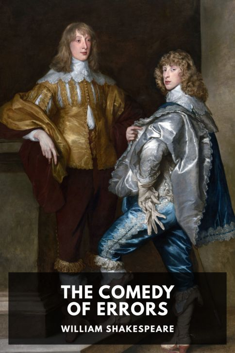 The cover for the Standard Ebooks edition of The Comedy of Errors, by William Shakespeare
