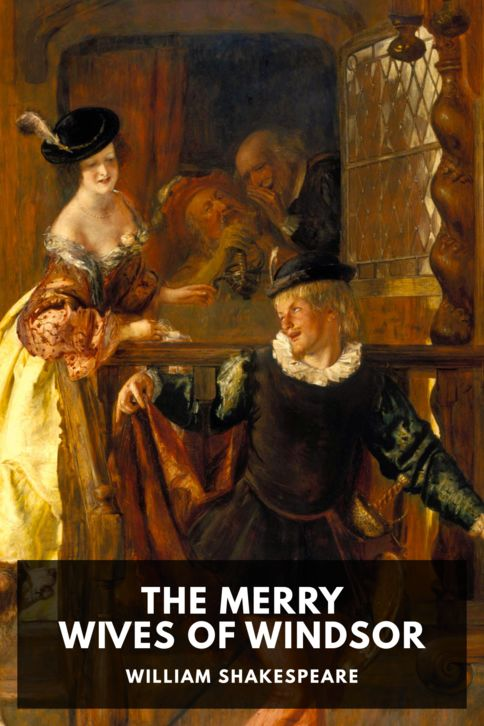 The cover for the Standard Ebooks edition of The Merry Wives of Windsor