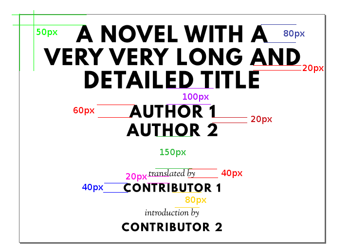 Spacing in a Standard Ebooks titlepage image